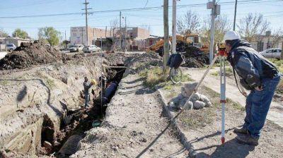 Analizan con Nación el avance de obras hídricas en Neuquén