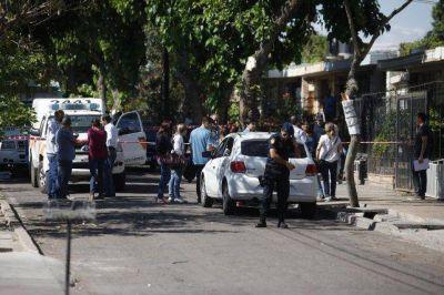 El escalofriante relato de la primera policía que llegó a la casa del triple femicidio