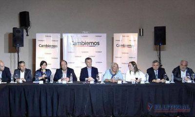 Colombi participó del lanzamiento de la Mesa Nacional de Cambiemos