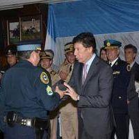 Posse distingui� a Polic�as Federales en San Isidro