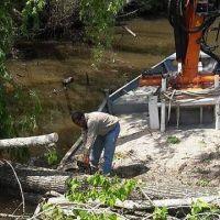Tigre efectu� nuevas obras para favorecer la navegaci�n en el Delta
