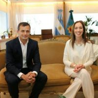 Bucca fue recibido por la Gobernadora Mar�a Eugenia Vidal