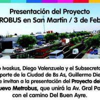 Metrob�s en Ruta 8: Macri le hace