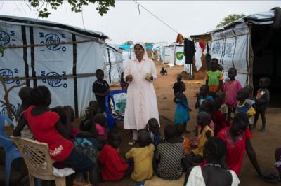 Francisco se reúne con los líderes cristianos de Sudán del Sur