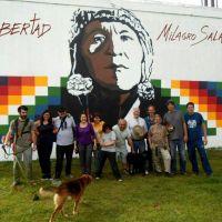 Inaugurar�n mural por la libertad de Milagro Sala