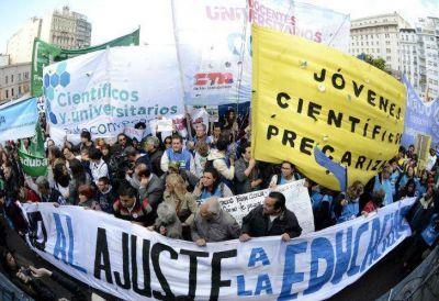 Científicos marcharon contra el recorte presupuestario