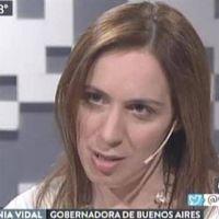Mar�a Eugenia Vidal dijo que An�bal Fern�ndez