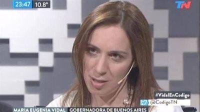 María Eugenia Vidal dijo que Aníbal Fernández