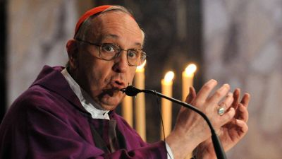 La misa de Bergoglio por Néstor Kirchner que Cristina vio tres años después
