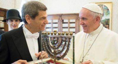 El Papa Francisco recibi� al nuevo Embajador de Israel en el Vaticano