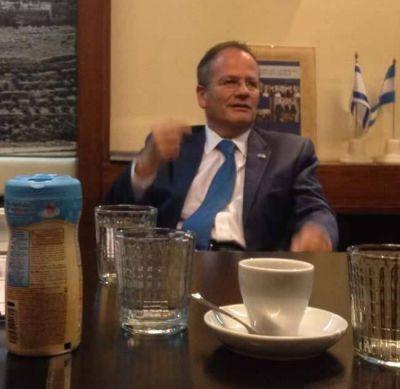 La Cámara de comercio Argentino-Israelí recibió al embajador de Israel