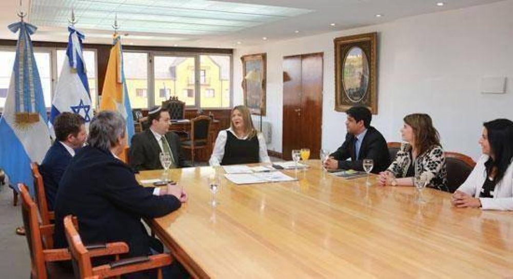 La DAIA se reunió con la gobernadora de Tierra del Fuego