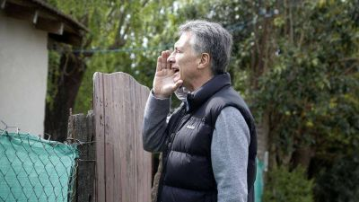 Macri estar� con un vecino chimbero y tambi�n viene Prat Gay