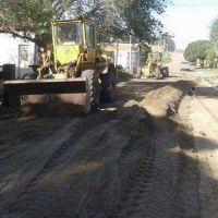 Construyen m�s de dos mil metros de cord�n cuneta en San Blas
