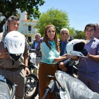 Direcci�n de enfermedades transmisibles por vectores recibi� 40 motocicletas entregadas por la Gobernadora