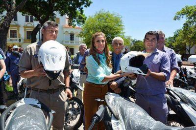 Dirección de enfermedades transmisibles por vectores recibió 40 motocicletas entregadas por la Gobernadora