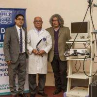 Donan al San Roque equipo para detectar c�ncer de colon