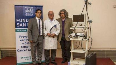 Donan al San Roque equipo para detectar cáncer de colon