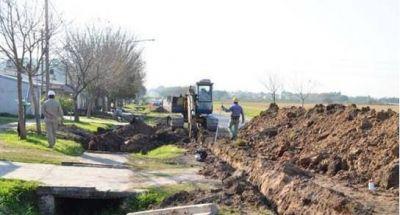 Cloacas: vecinos pagarán obras sólo cuando estén finalizadas