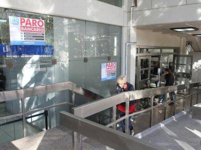 Comenzó el paro bancario por 24 horas en Mendoza