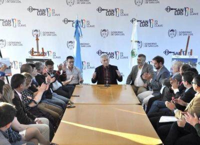 Alberto Rodríguez Saá firmó el decreto para crear otras dos escuelas generativas