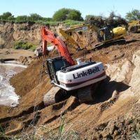 Cuenca del Morro: contin�an las obras de recuperaci�n de la Ruta Provincial N� 33