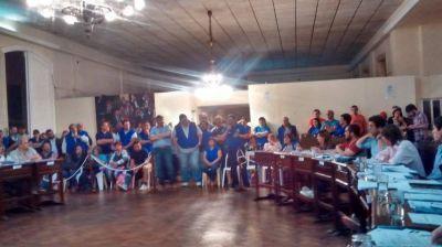 Concejales aprobaron la donación del predio al Sindicato de Trabajadores Municipales