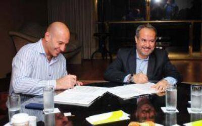 El municipio de Quilmes firmó un acuerdo con el Sedronar