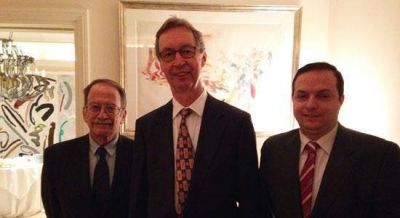 Junto al embajador de Alemania, la DAIA celebró Rosh Hashaná y el Día de la Unidad Alemana