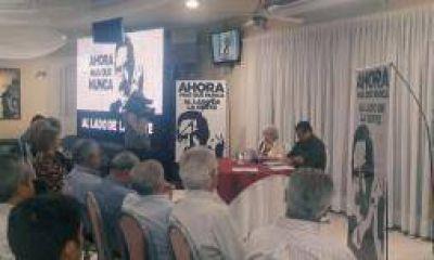 Radicales disidentes de La Rioja recordaron a Alfonsín