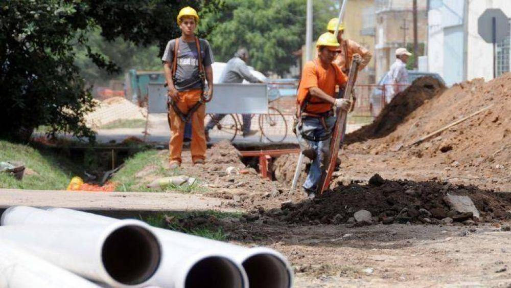 Vecinos pagarán las cloacas cuando las obras estén finalizadas