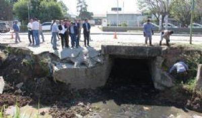 El municipio avanza con las obras del plan Pre Lluvia