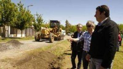 El municipio trabaja para habilitar el gas natural al Barrio de la Agraria