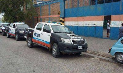 Robaron 3 camiones con mercadería del depósito de una empresa de transporte