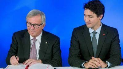 Europa y Canadá firman un ambicioso acuerdo de libre comercio