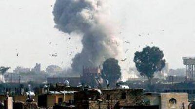 Arabia Saudita bombardeó una cárcel en Yemen, hay 60 muertos