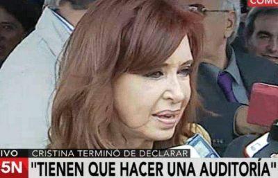 Cristina denunció una