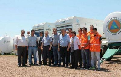 Chaco recibió equipamiento para emergencias climáticas y siniestros