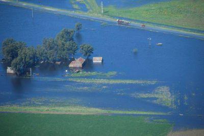 Inundaciones: ingresó pedido para que se declare la emergencia nacional