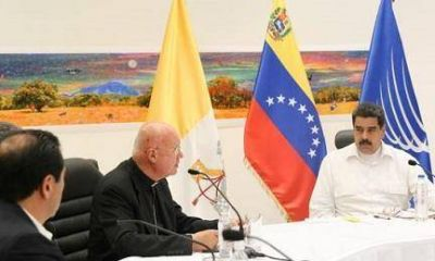 Preliminares de diálogo en Venezuela