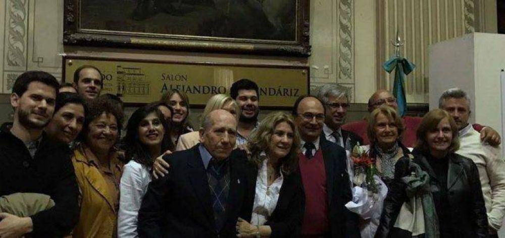 """Lordén: """"Es un orgullo que el Senado bonaerense haya homenajeado a `Titán´ Armendáriz"""""""