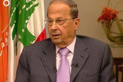 Michel Aoun, elegido como presidente de EL Líbano