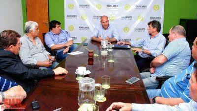 Molina recibió a la cúpula de la CGT Regional