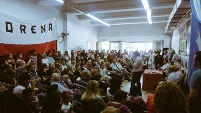 En un comité colmado, los radicales festejaron el 30 de Octubre