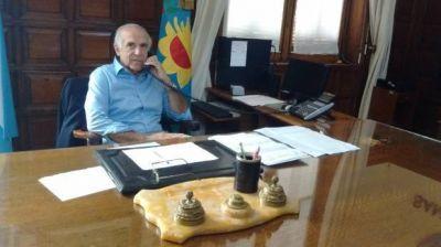 Ismael Passaglia volvió a ponerse al frente del Ejecutivo Municipal