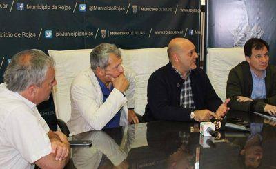 Visitó Rojas el Subsecretario de Deportes de la Provincia