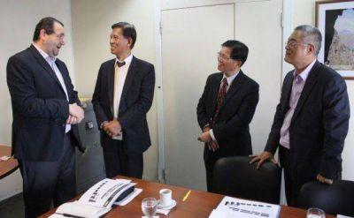 Taiwán interesado en energías renovables en Tandil, Olavarría y Azul