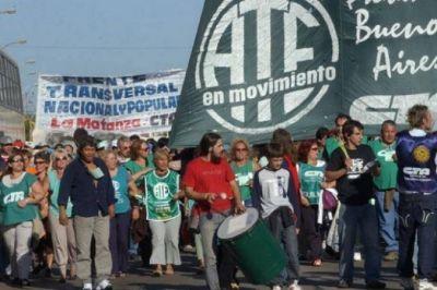Estatales bonaerense continúan con paros y movilizaciones esta semana