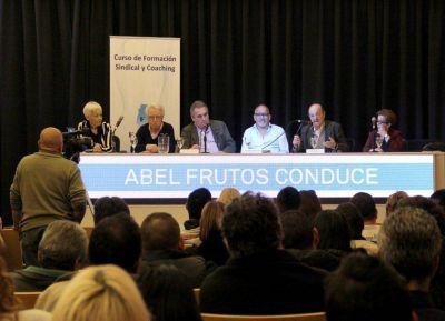 Juan Carlos Schmid y Julio Bárbaro participaron de un curso de formación en Panaderos