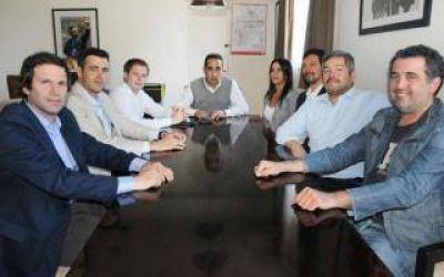 Campbell y Tagliaferro se reunieron con concejales de Ituzaingó